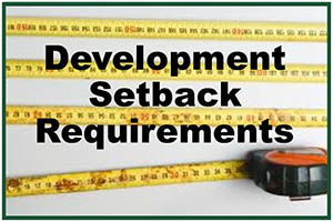 setback requirements